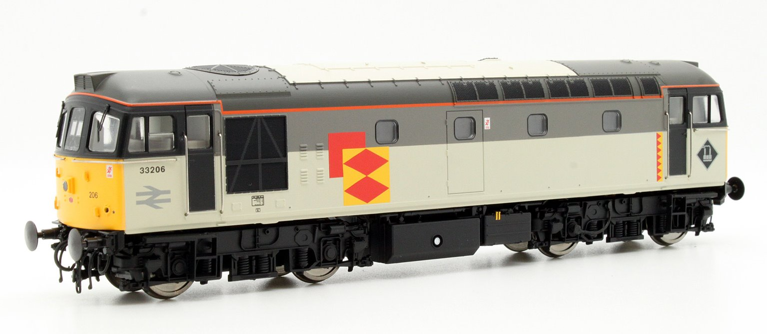 Class 33/2 33206 In Railfreight Distribution Sector Livery