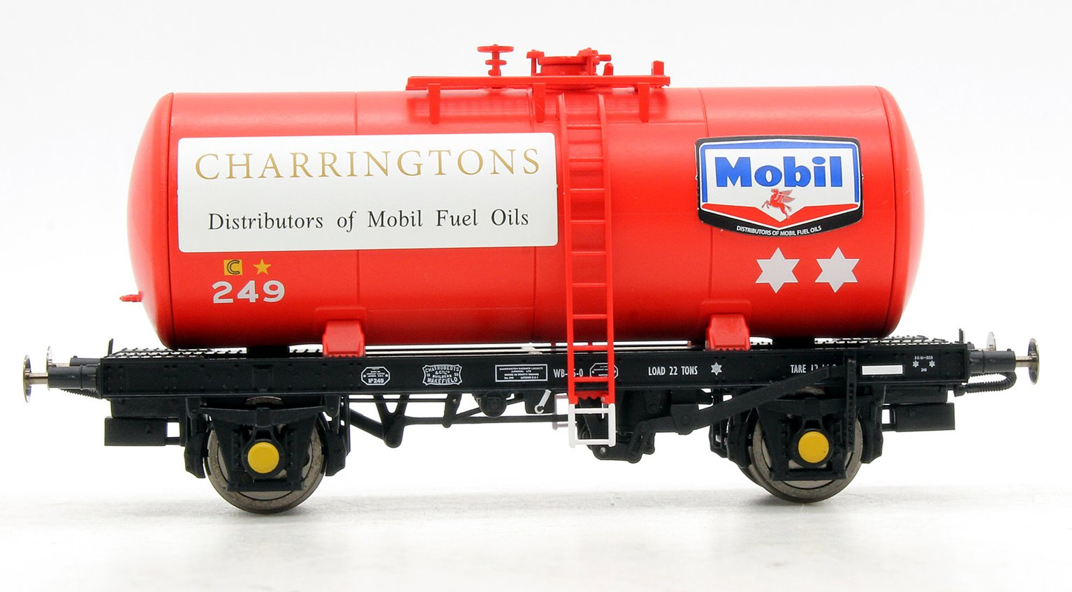 B Tank MOBIL CHARRINGTON FUEL OIL 249 (red)