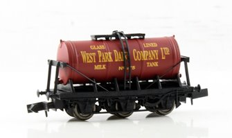 6 Wheel Milk Tanker West Park Dairy no 142