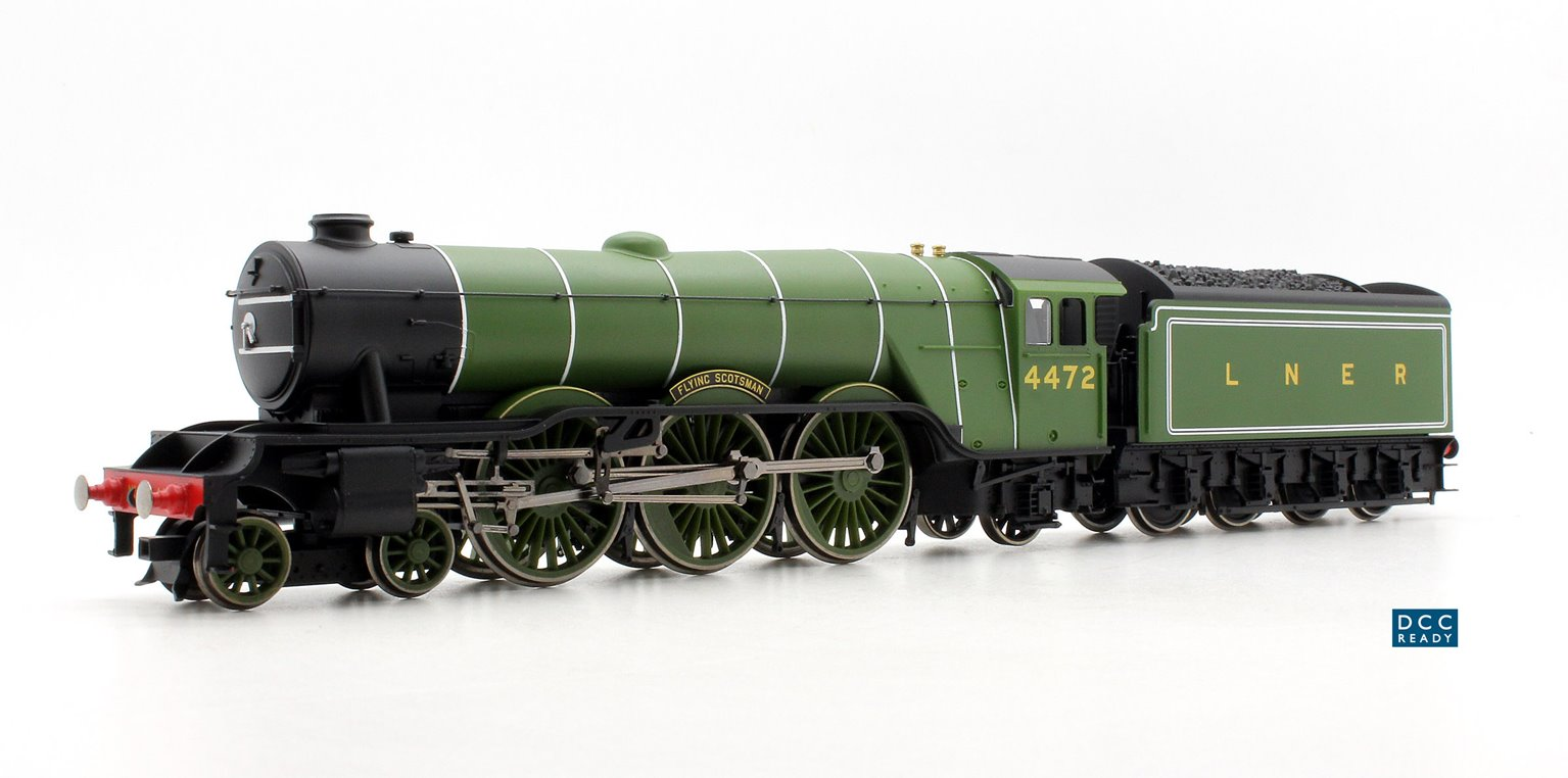 Flying Scotsman' LNER Green Class A1 4-6-2 Loco 4472 DCC Ready