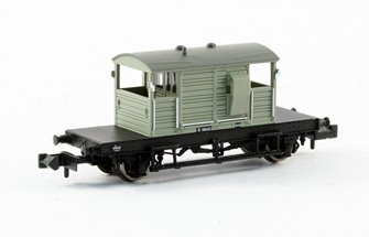SR 25 Ton 'Pill Box' Brake Van BR Grey