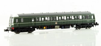 Class 122 55000 BR Green with Whiskers DCC