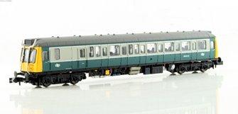 Class 121 #55032 Blue & Grey