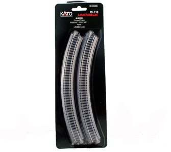 Kato 20-110 Ground Level Radius 282mm Curved Track 45 Deg.(4)