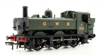 Class 64xx GWR Green 0-6-0 Pannier Tank Locomotive 6424