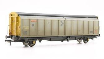 46 Tonne VGA Sliding Wall Van BR Railfreight Distribution Weathered