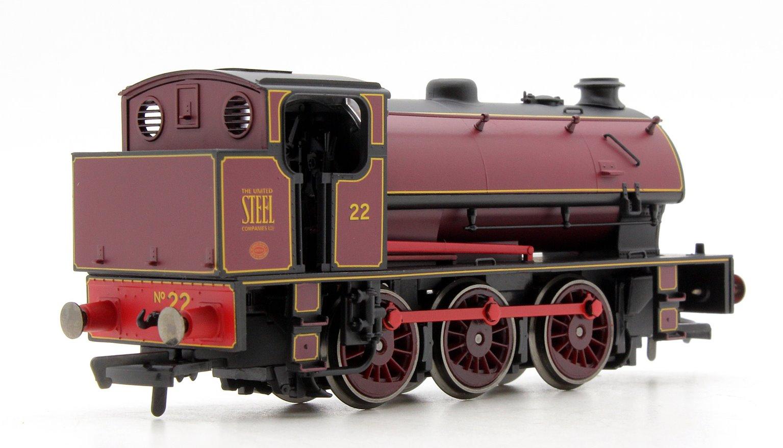 Class J94 'United Steel Company' 0-6-0ST Locomotive No.22