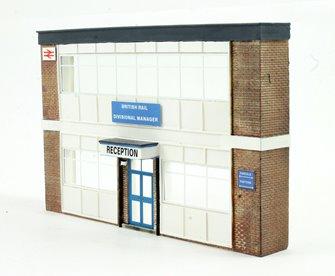 Low Relief Office Block
