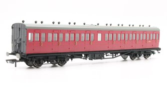 BR 58' Maunsell Rebuilt (Ex-LSWR 48') Nine Compartment Third Class Coach 'S280S', Maroon