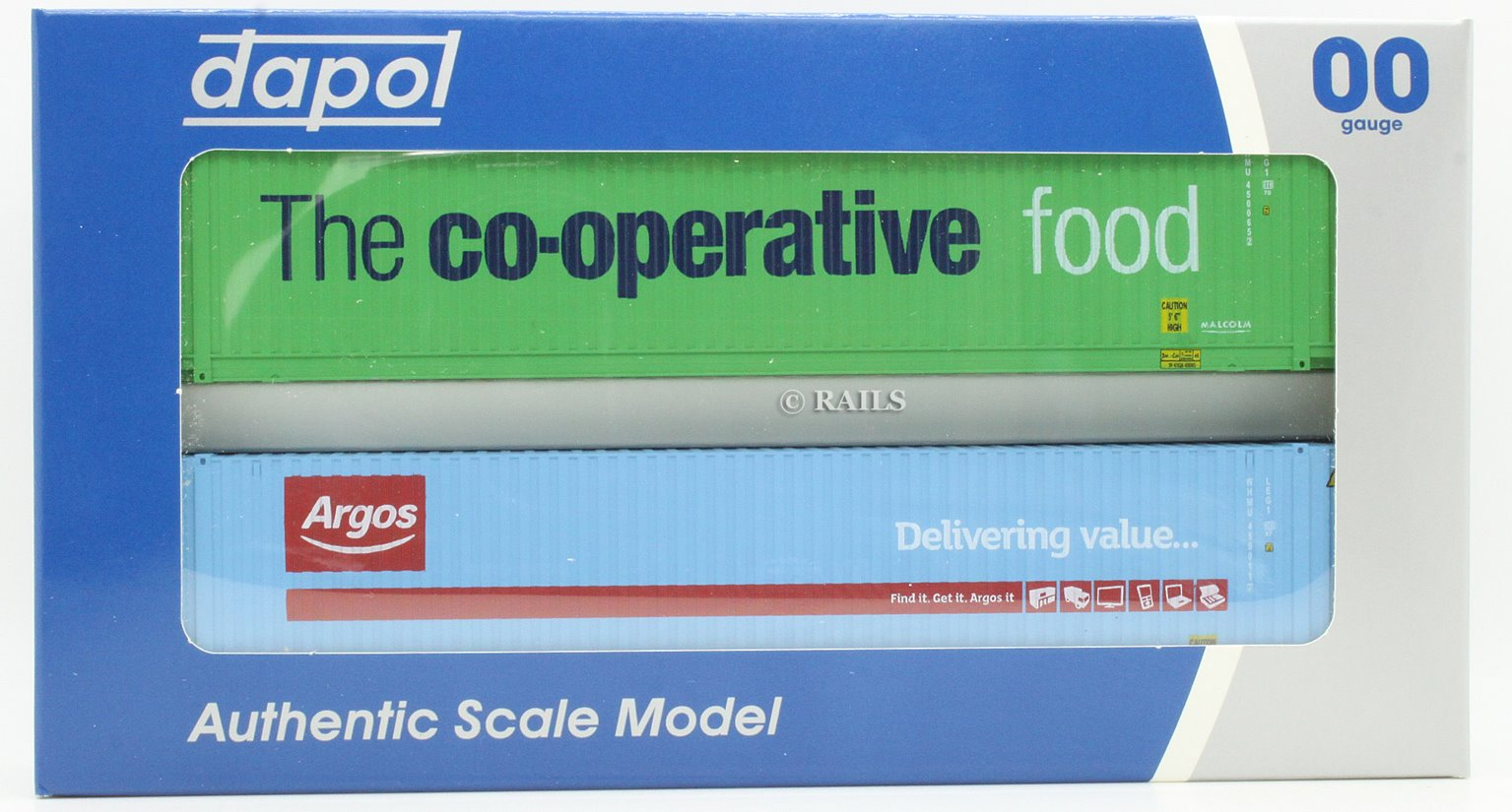 45 Foot Container Hi Cube Twin Pack Argos / Co-Operative