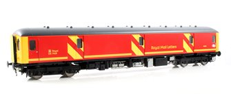 Class 128 DPU 55992 in Royal Mail Letters red