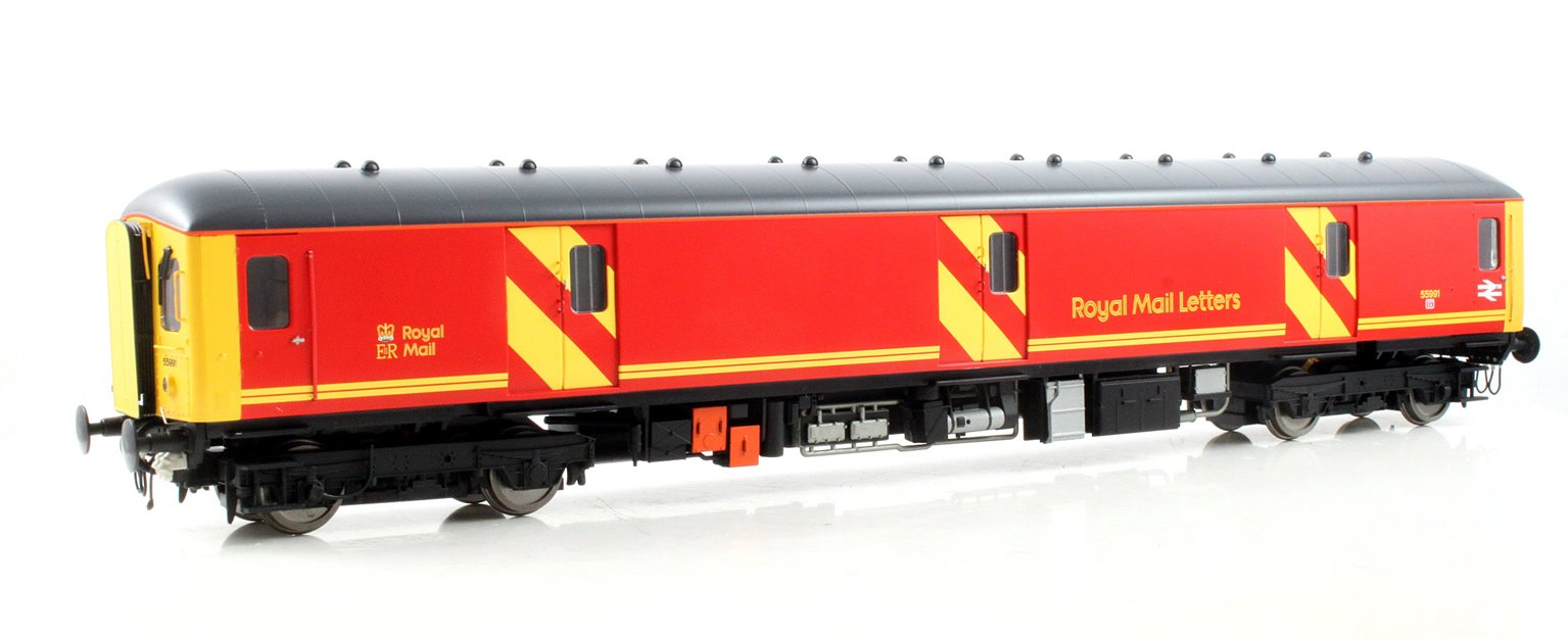 Class 128 DPU 55991 in Royal Mail Letters red
