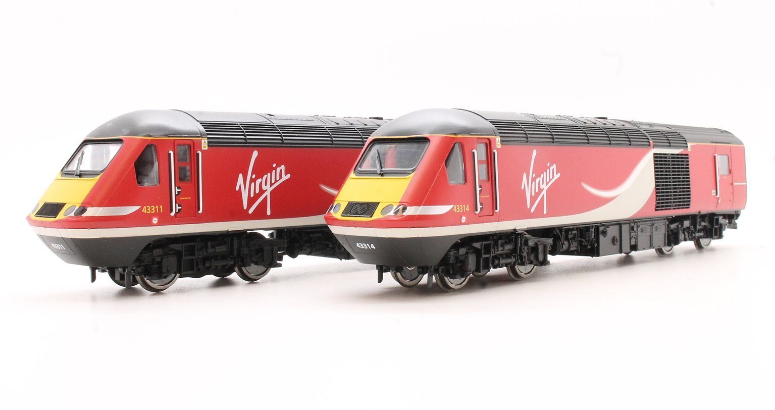 Class 43 HST Virgin Rail East Coast with TTS Sound