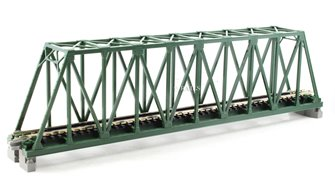Kato 20-431 Single Track Truss Girder Bridge 248mm Green