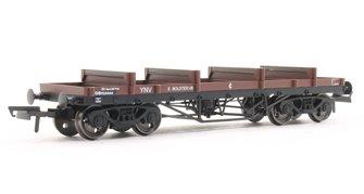Bogie Bolster Wagon E BR 923444 Bauxite (TOPS YNV) Diag1/479