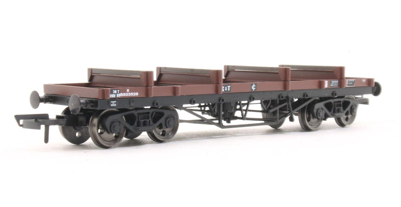 Bogie Bolster Wagon  BR 923528 Bauxite (TOPS YRV (S&T))