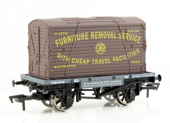 Conflat & Container GWR K-1674