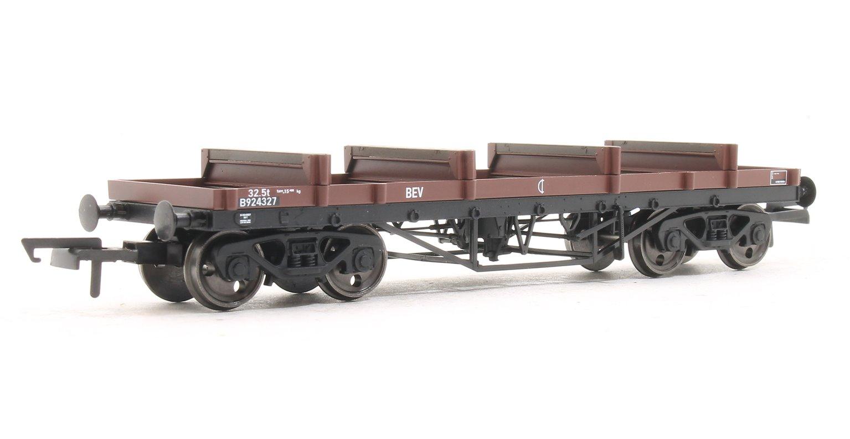 Bogie Bolster Wagon  BR 924327 Bauxite (TOPS BEV)