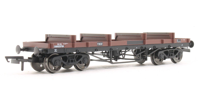 Bogie Bolster Wagon BR 923791 Bauxite (TOPS YNV)