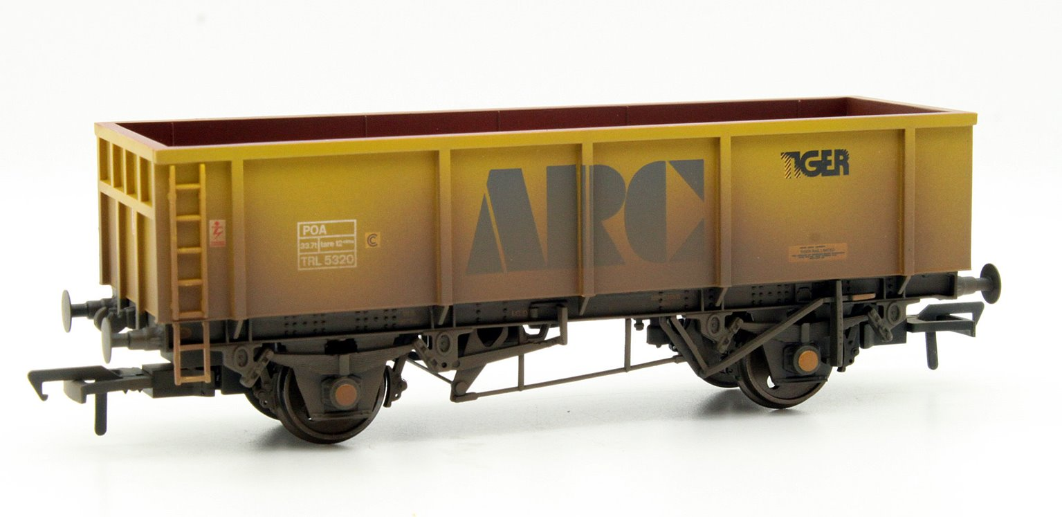 46T POA Mineral Wagon 'ARC TIGER' Weathered