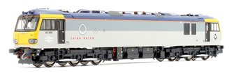 Class 92 008 'Jules Verne' Railfreight Triple Grey Livery Electric Locomotive