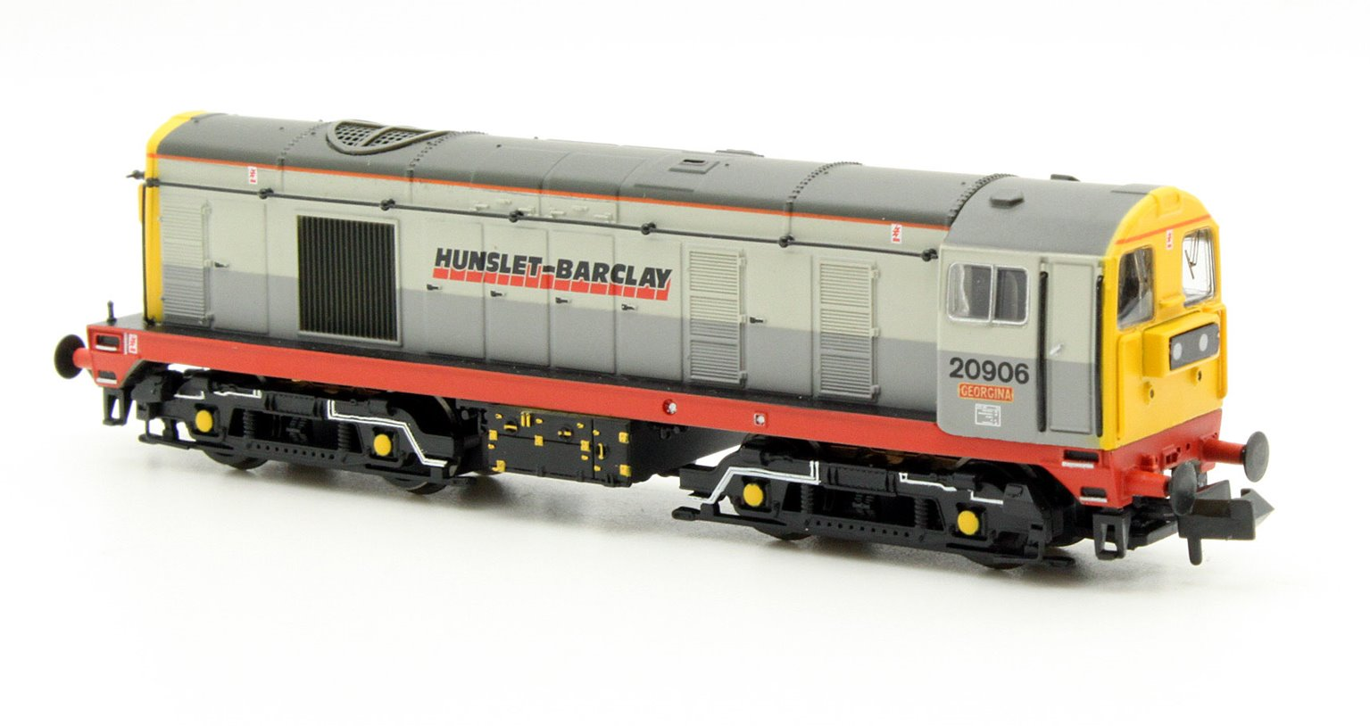 Class 20 Twin Pack Hunslet-Barclay