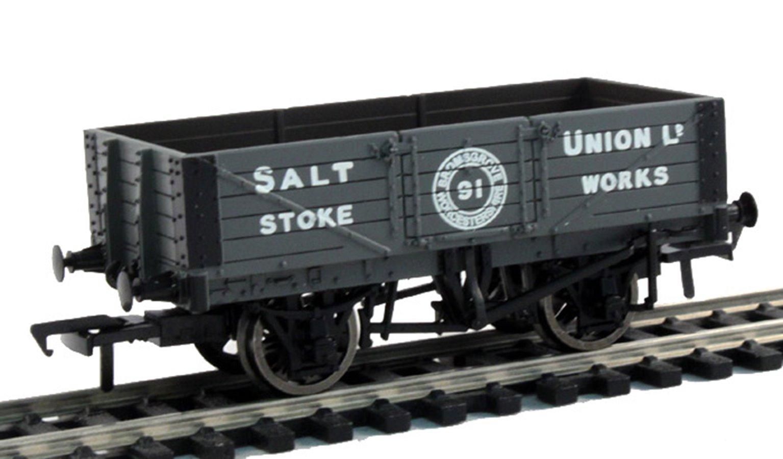 'Salt Union Ltd' wooden floor 5 Plank wagon