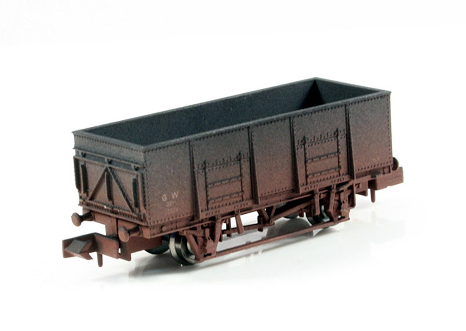 Dapol 2F-038-004 GWR 20 Ton Steel Mineral Wagon - Weathered