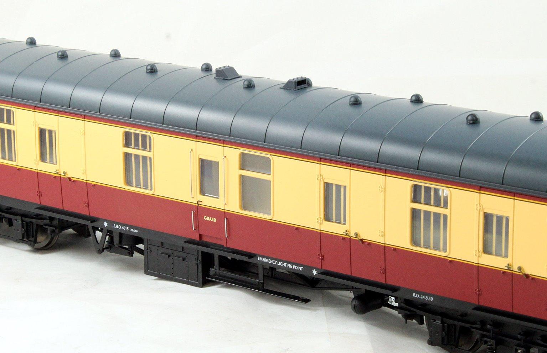 BR Mk1 57' BG Coach Carmine & Cream