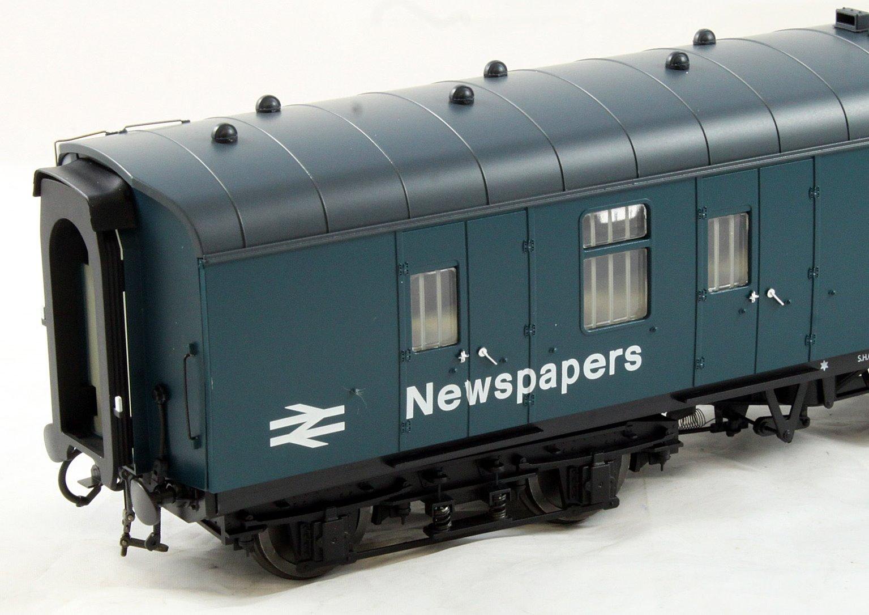 BR Mk1 57' BG Coach Blue 'Newspapers'