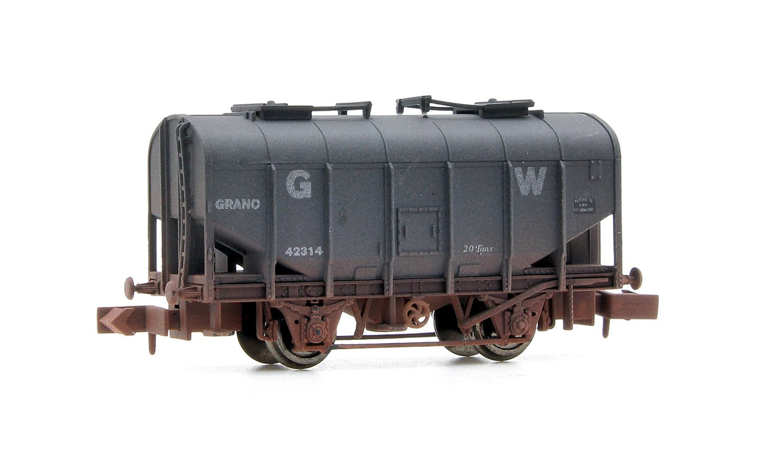 Dapol 2F-036-022 Bulk Grain GWR 42314 Weathered