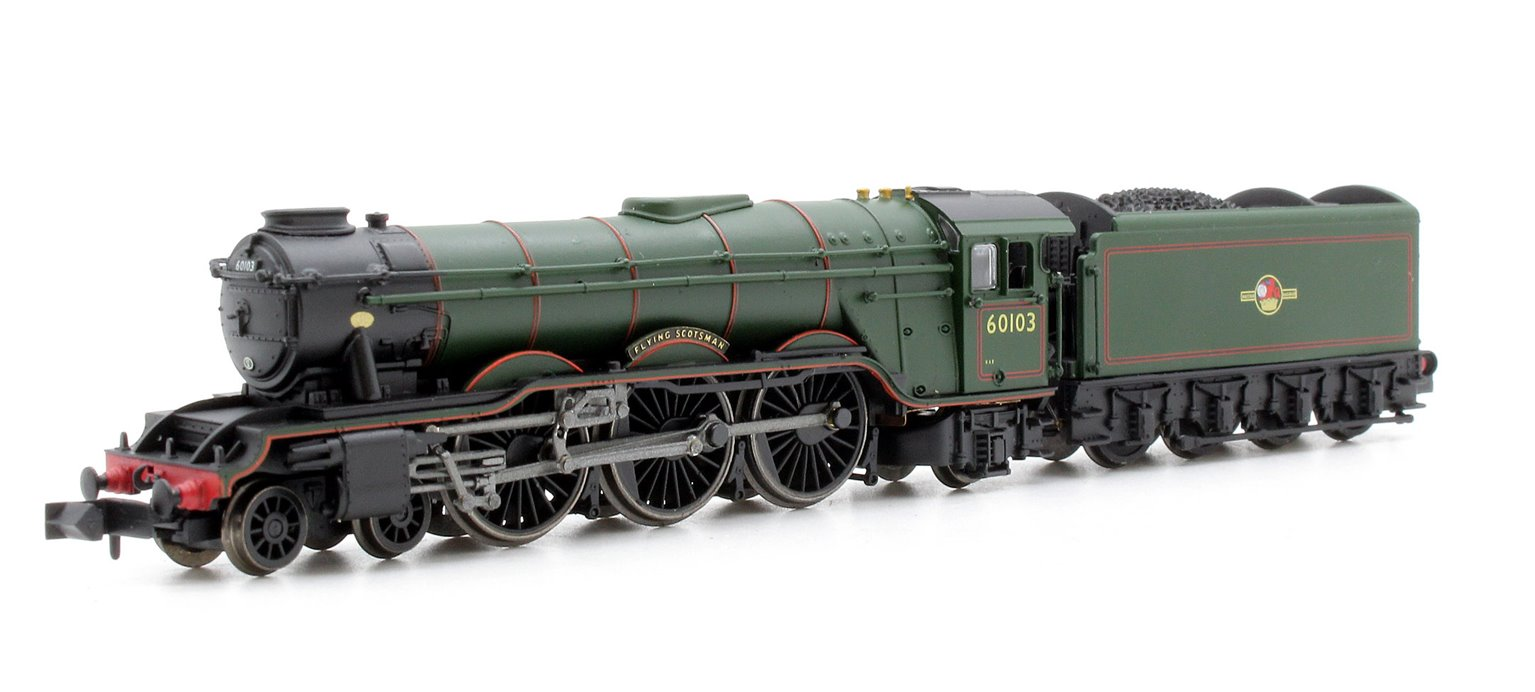 A3 Flying Scotsman 60103 BR Green Late Crest - DCC Fitted