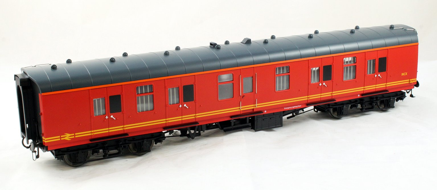 BR Mk1 57' BG Coach Royal Mail Red