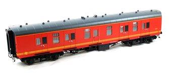 BR Mk1 57' BG Coach Royal Mail Red