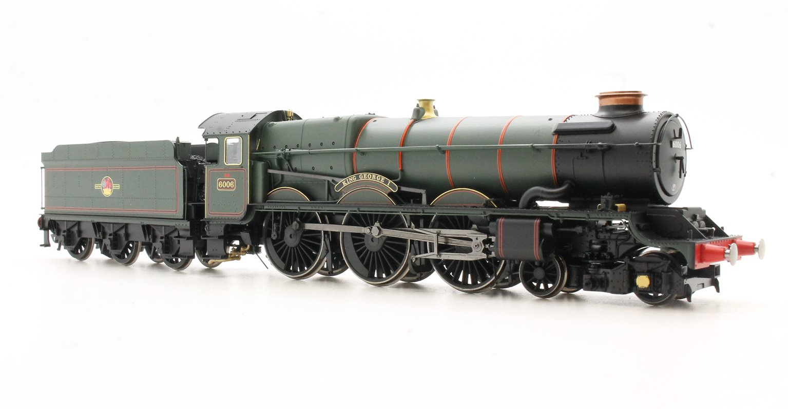 BR 4-6-0 'King George I' 6000 King Class, Late BR with TTS Sound