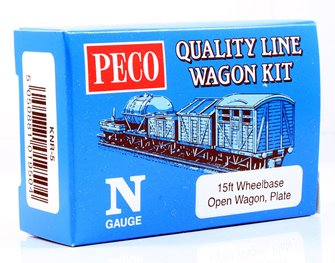 Open Wagon, Plate Wagon Kit