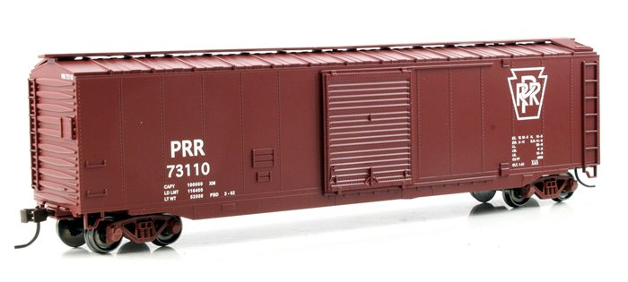 50' Sliding Door Box Car Pennsylvania