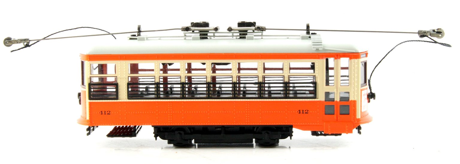Single Truck Birney Safety Street Car Powered (DCC) New York & Queens