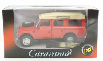 Red Land Rover Series III Cararama