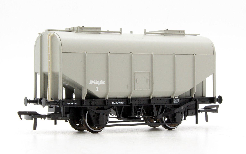 21 Ton Grain Hopper BR PO 'Worthington' Grey