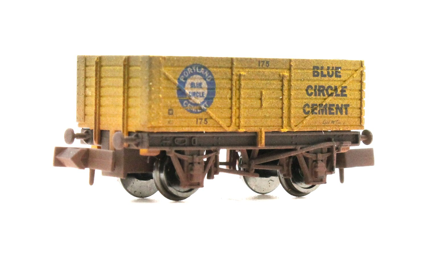 7 Plank Blue Circle Cement 175 - Weathered