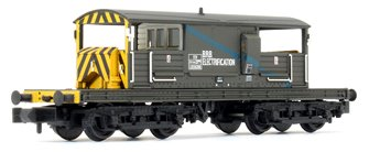 SR 25T 'Queen Mary' Brake Van BR Departmental Olive Green