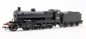 Railway Operating Division (ROD) No. 2406 in LNWR Black livery