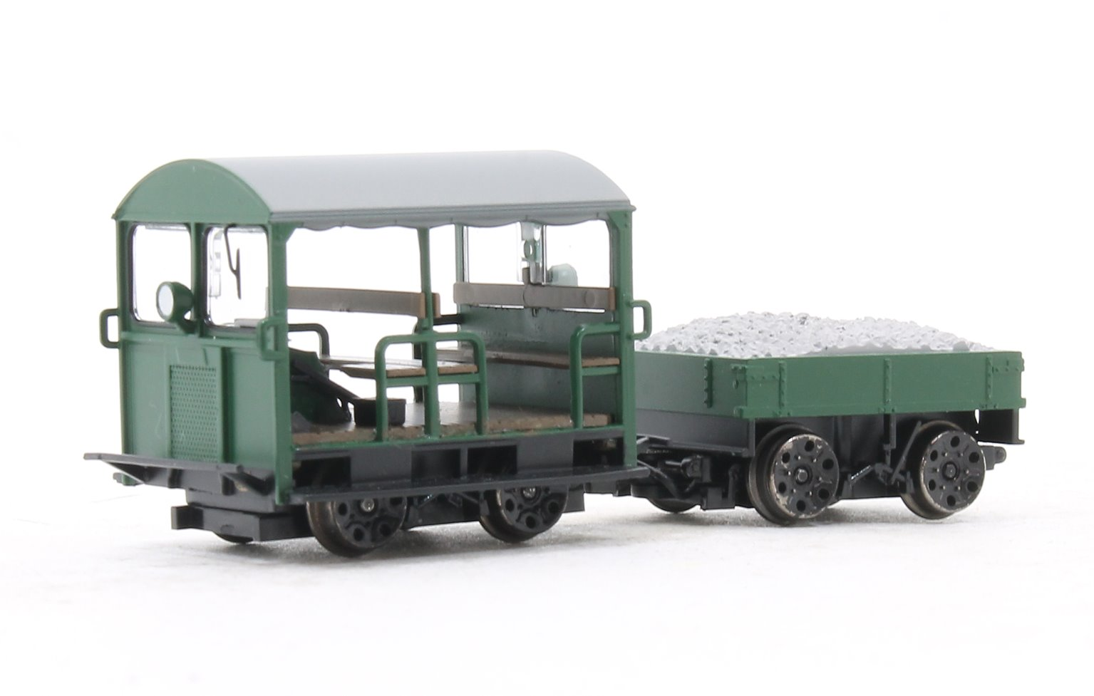 Wickham Type 27 Trolley Car Green