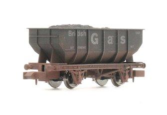 "Dapol 2F-034-058 21 Ton Hopper ""British Gas"" - Weathered"