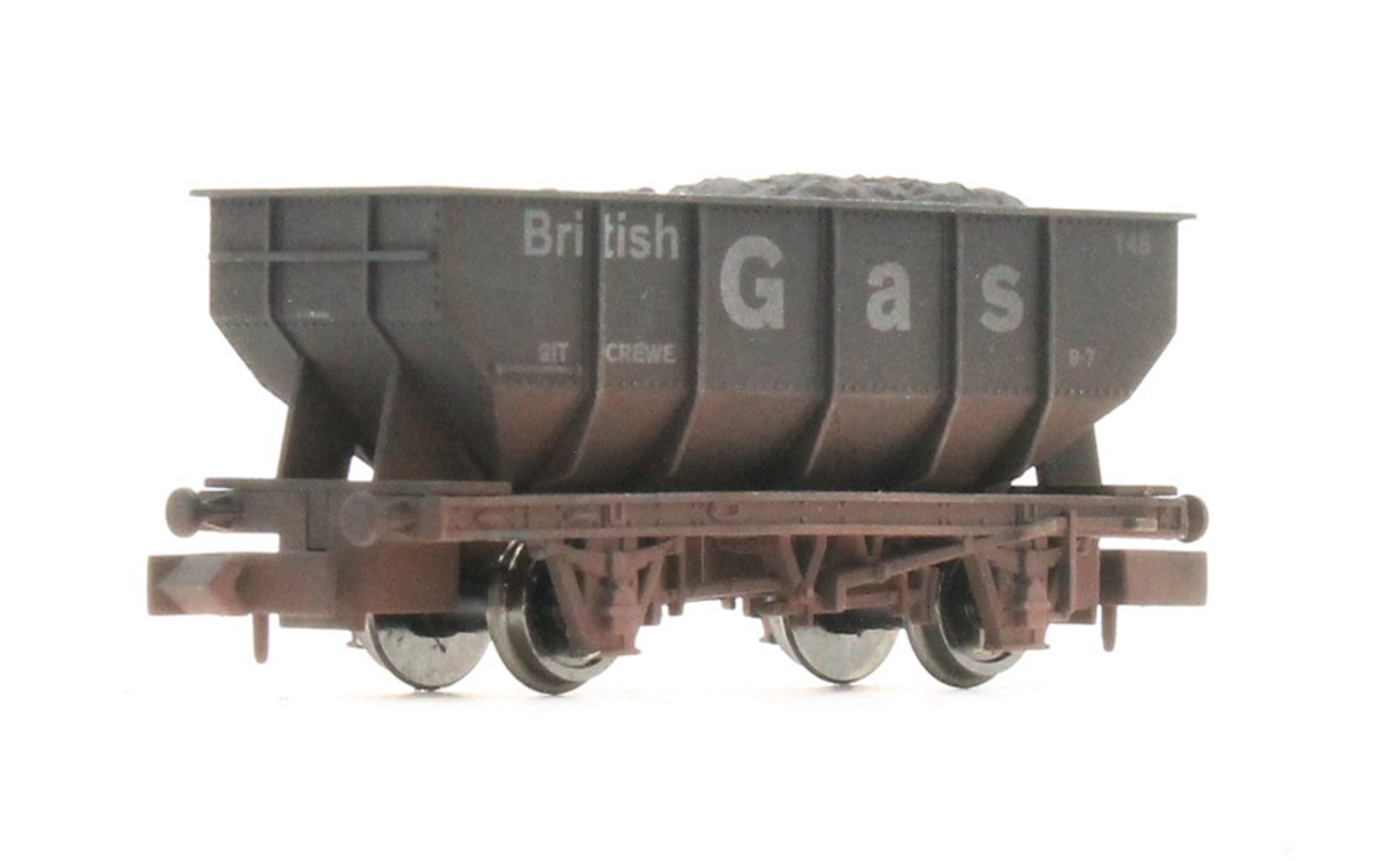 "Dapol 2F-034-058 21 Ton Hopper ""British Gas"" - Weathered"