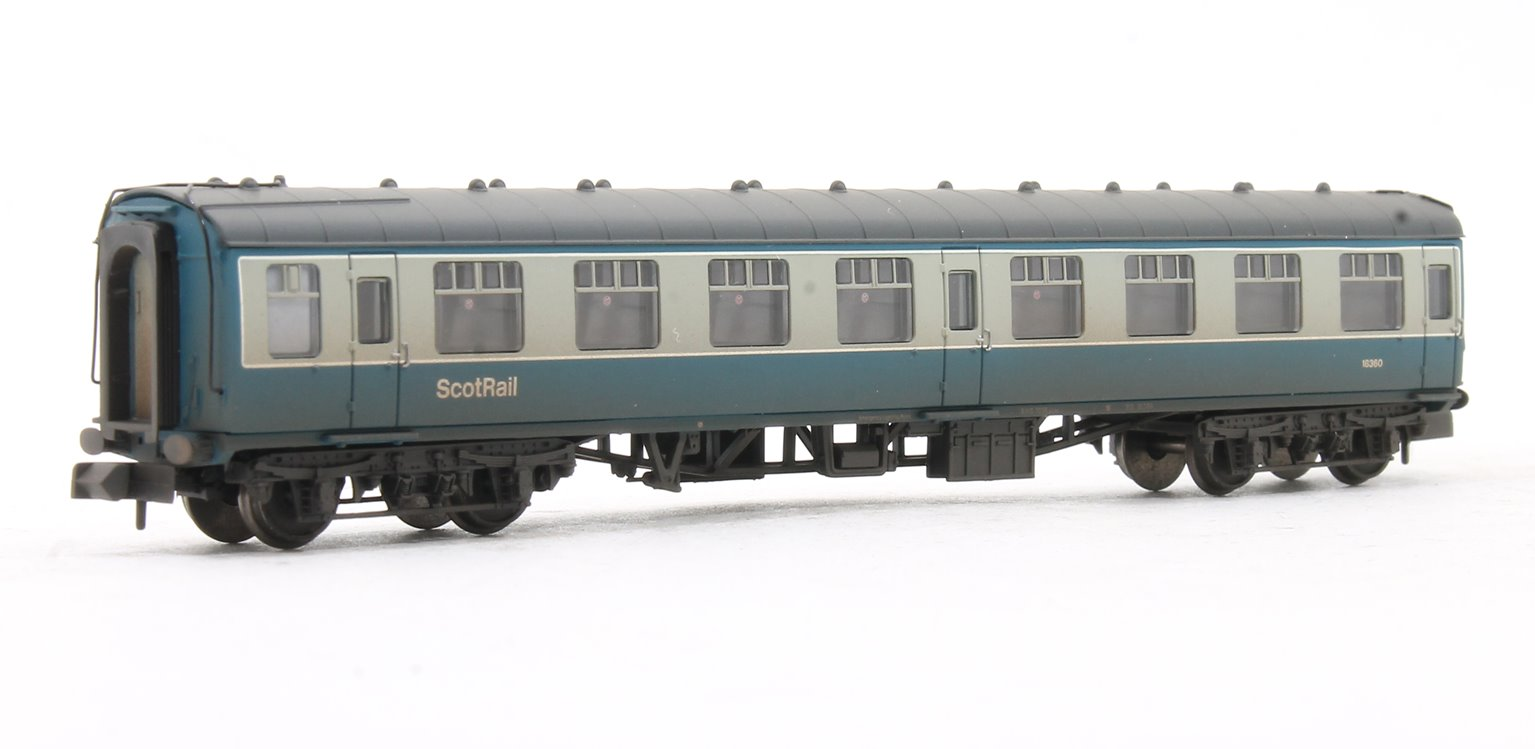 BR Mk1 SK Second Corridor BR Blue & Grey with ScotRail Branding Weathered