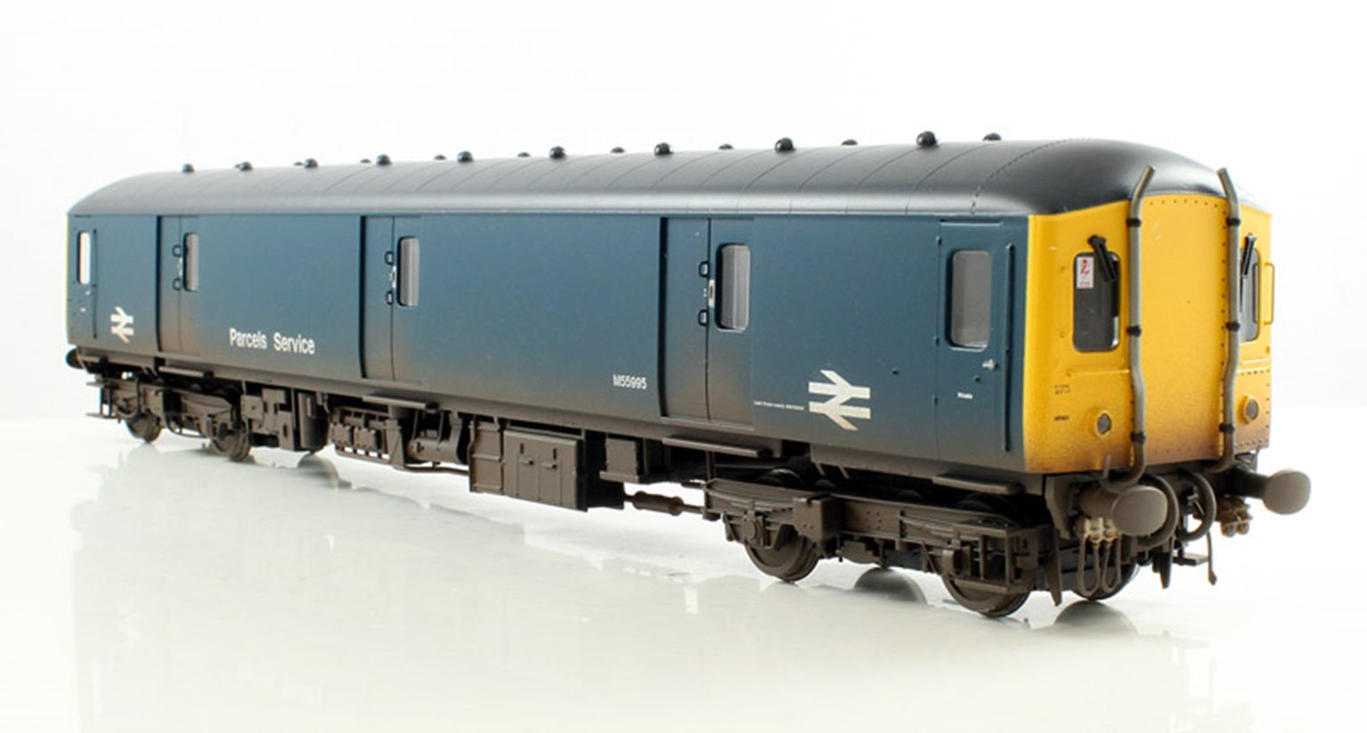 Class 128 DPU #M55995 Express Parcels Blue Weathered Locomotive