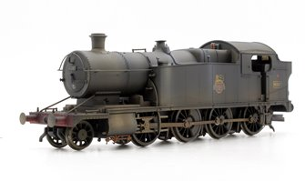 Custom Finished BR Black (Early) Class 42xx 2-8-0 Tank Locomotive #4287 Weathered
