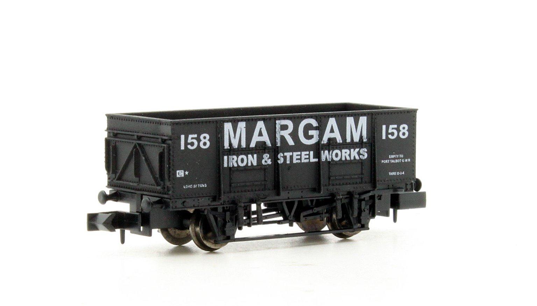 "Dapol 2F-038-051 20 Ton Steel Mineral Wagon ""Margam"" 158"